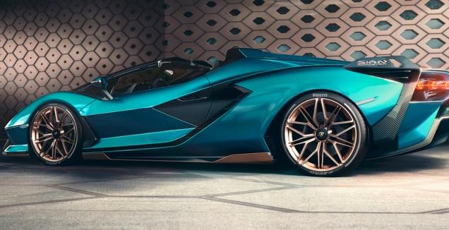 הרכב החדש של לאמבורגיני (האתר הרשמי) (מערכת ONE)