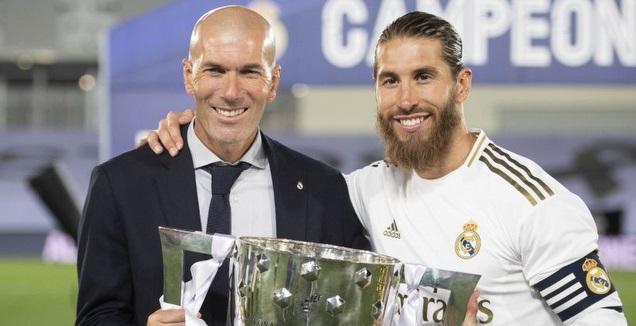 סרחיו ראמוס וזינדין זידאן (La Liga)
