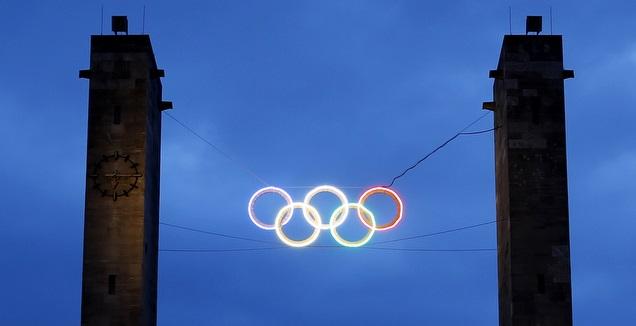 סמל האולימפיאדה (רויטרס)
