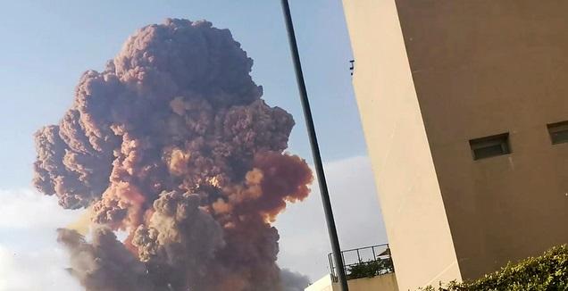 הפיצוץ בלבנון (רויטרס)