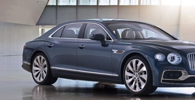Bentley Flying Spur (האתר הרשמי)