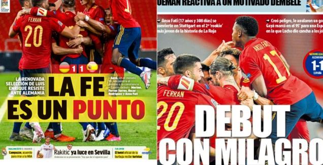 שערי העיתונים בספרד (מערכת ONE)