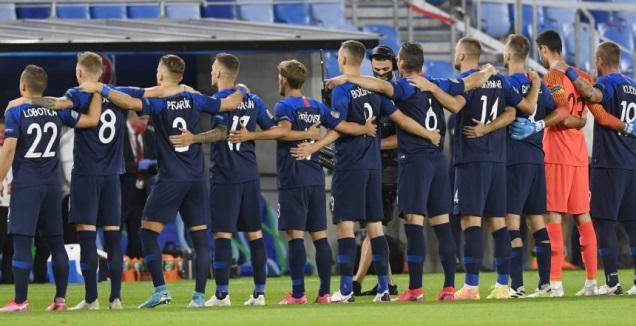 שחקני נבחרת סלובקיה (רויטרס)