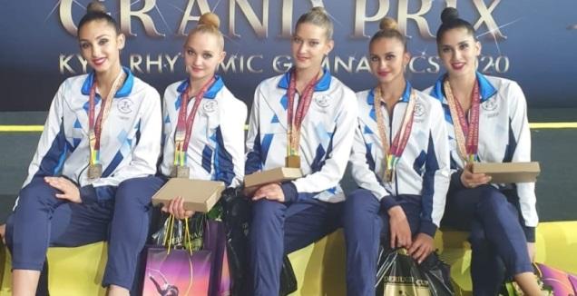 נבחרת ישראל בהתעמלות אמנותית (באדיבות האיגוד)