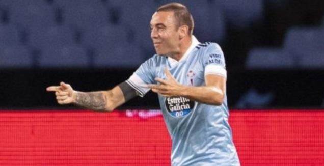 יאגו אספאס חוגג (La Liga)