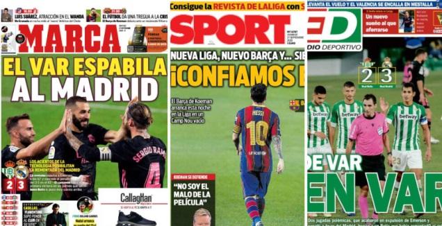 שערי העיתונים בספרד (MARCA)