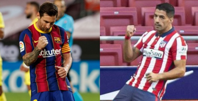 לואיס סוארס והמחווה של ליאו מסי (La Liga)
