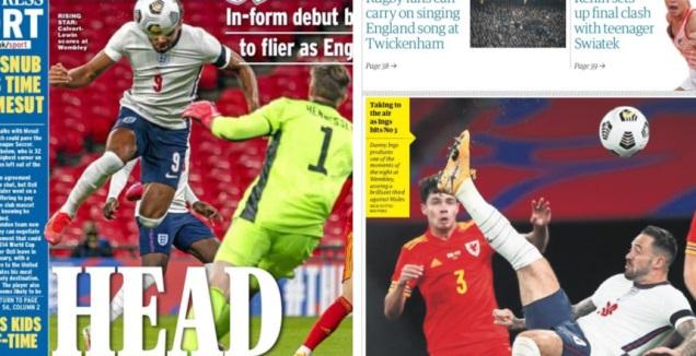 כותרות העיתונים באנגליה (רויטרס)