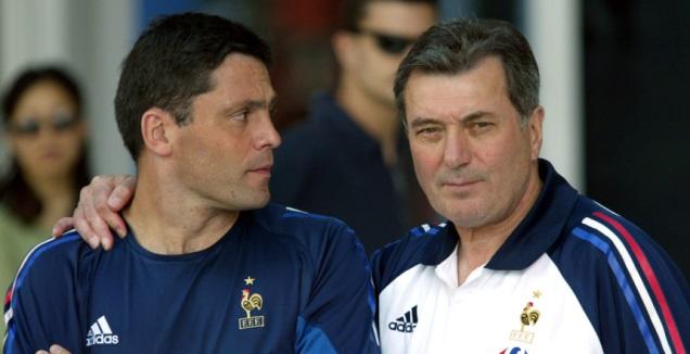 ברונו מרטיני (משמאל) עם רוג'ר למר (רויטרס)