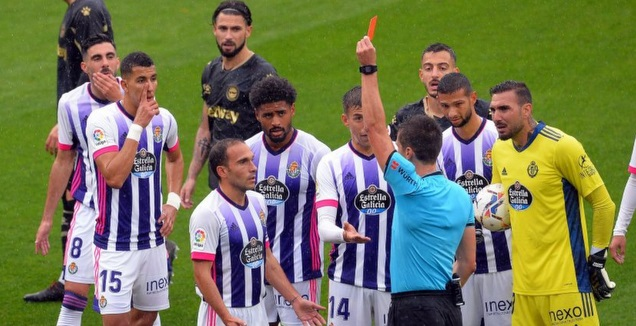 נאצ'ו מרטינס מורחק (La Liga)