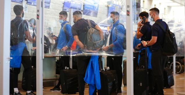 שחקני נבחרת ישראל בנתב&qout;ג (איציק בלניצקי)