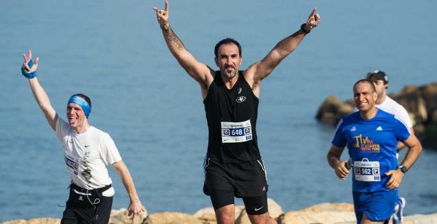 מרתון תל אביב (באדיבות כפיים אקטיב)