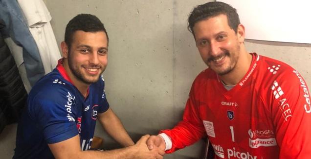למברוזו ויאסין אידריסי קפטן נבחרת מרוקו ולימוז (צילום פרטי)