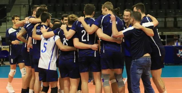 נבחרת ישראל בכדורעף (דויד סלברמן)