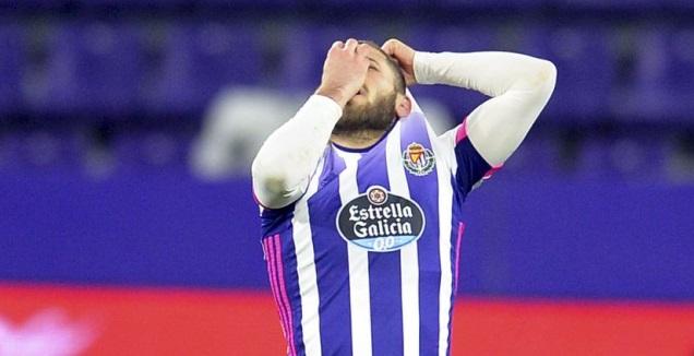 שון וייסמן חוגג לפני פסילת השער (La Liga)