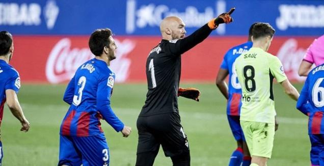 מרקו דמיטרוביץ' חוגג (La Liga)