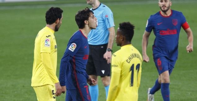 ז'ואאו פליקס עצבני (La Liga)