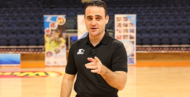 שופט הכדורסל הבינלאומי דודי רומנו (מערכת ONE)