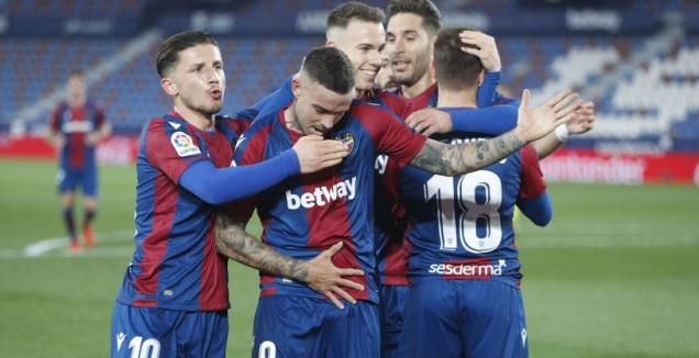 רוג'ר מרטי חוגג (La Liga)