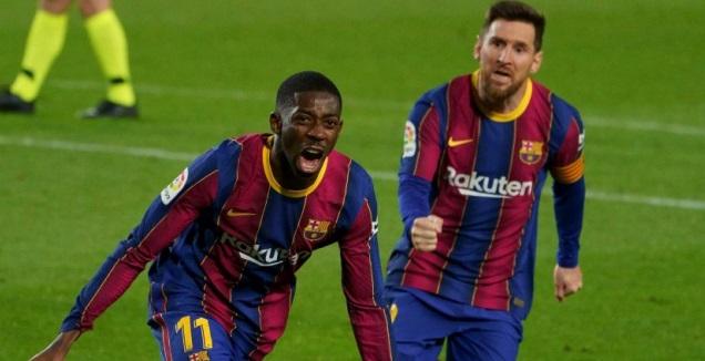 אוסמן דמבלה בטירוף (La Liga)