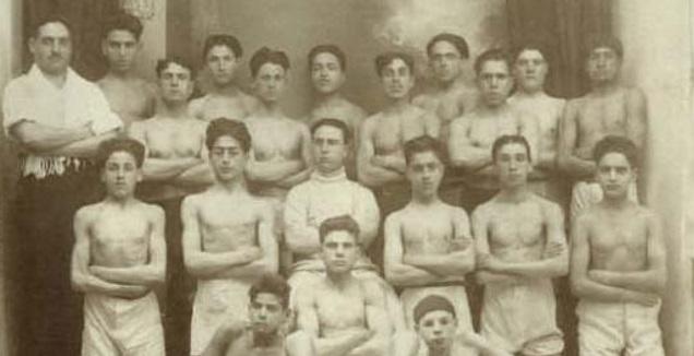 פרץ במועדון האגרוף מכבי תוניס (יד ושם)