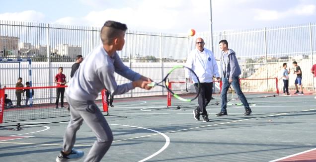 הפרויקט הייחודי של רהט ומרכזי הטניס (קובי גונן, יהלי צלמים)