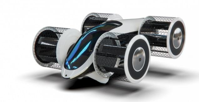 הדמיית המכונית המעופפת הרוסית (האתר הרשמי)