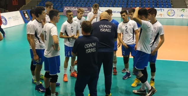 הצוות המקצועי של נבחרת הנערים (איגוד הכדורעף)