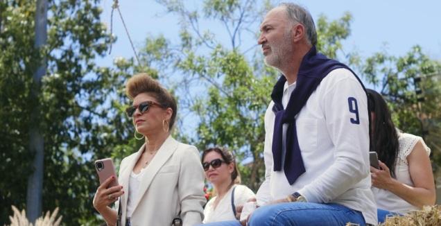 זופר אבדיה ועדי אשכנזי בצילומי הקמפיין (סיטימדיה)