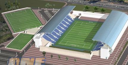האצטדיון החדש בפ