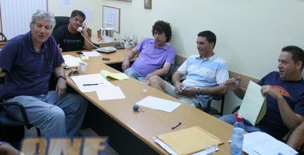 ישיבת ההנהלה בהפועל חיפה. אנשים ייענשו (עמית מצפה)