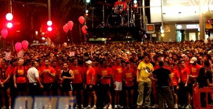 מירוץ נייקי בתל אביב. חגיגה באדום (אמיר לוי)