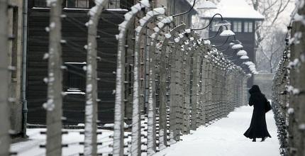מחנה ההשמדה אושוויץ. לא פסח על ארפד (GettyImages)