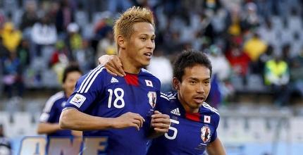 קייסוקה הונדה. התקווה של יפן לרבע הגמר (רויטרס)