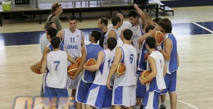 נבחרת הנוער בכדורסל. הכל ערוך ומוכן (שי לוי)