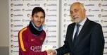 לראשונה בקריירה שלו: מסי שחקן החודש בספרד