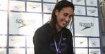שיא ישראל לאנדי מורז במשחה ל-100 מטר גב