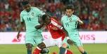 הפסד עם תירוץ: פורטוגל נכנעה 2:0 לשווייץ