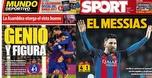 בברצלונה נפעמים: מסי עשה צחוק מ-8 שחקנים