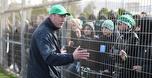 טירוף במכבי חיפה: כמאה אוהדים הגיעו לאימון