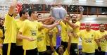 מכבי תל אביב זכתה באליפות המדינה בכדורעף