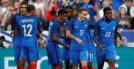 בעשרה שחקנים: צרפת ניצחה 2:3 את אנגליה