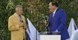 ביקור מלכותי: אגדות ה-NFL הגיעו לירושלים
