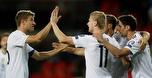 ניצחון 1:2 קשה לגרמניה, 0:4 לאנגליה במלטה
