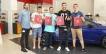 SEAT מטיסה שישה זוכים למשחקי הליגה הספרדית