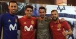 מרגיש בבית: קואנקה ביקר באימון נבחרת ספרד