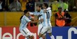 שלושער של מסי נתן לארגנטינה כרטיס למונדיאל