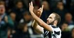 היגוואין הגיע ל-101 שערים, 0:2 ליובה על מילאן