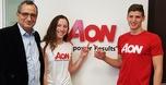 AON ישראל תאמץ שני שחיינים אולימפיים צעירים