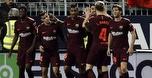 שער בעקב לקוטיניו, 0:2 לברצלונה נגד מלאגה